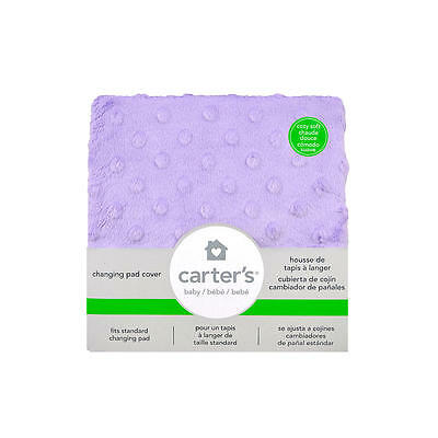 New Carter's Solid Changing Pad Cover Orchid Model:19005666