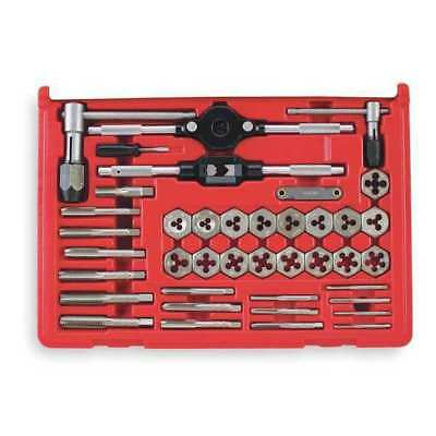 VERMONT AMERICAN 21749 Tap and Die Set, 40 pc, Carbon Steel