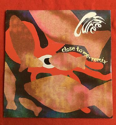 "THE CURE -Close To Me (Remix)/Just Like Heaven (Remix)- UK 7"" +Pic Sleeve /Vinyl"