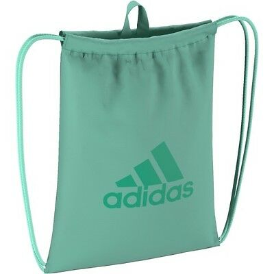adidas Turnbeutel Gymnastiksack Gymbag Performance grün + bordo TOP FARBEN
