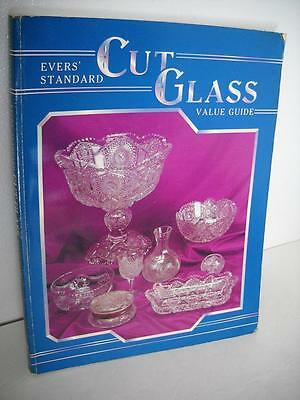 Cut Glass Value Guide By Jo Evers - 156 Pages With Pricing - Soft Cover Edition