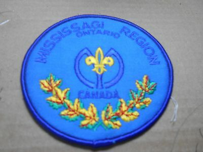(Rk4-J) Mississagi  Ontario Misc. 5A    Canadian Scout Badges