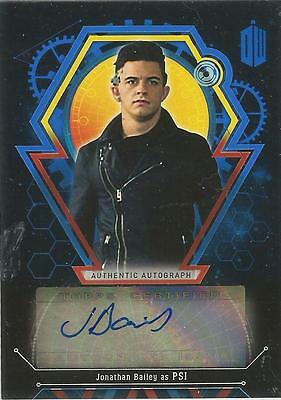 DR. WHO EXTRATERRESTRIAL ENCOUNTERS AUTOGRAPH JONATHON BAILEY as PSI #11/25