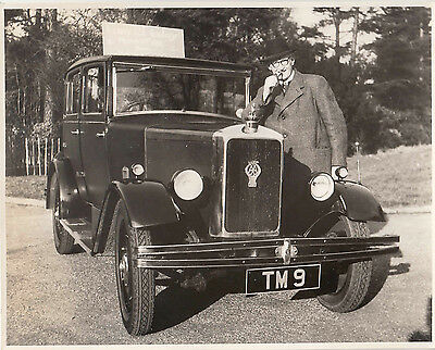 ARMSTRONG SIDDELEY FOUR DOOR SALOON, CAR REG.No.TM 9, PHOTOGRAPH.