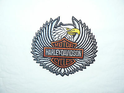 HARLEY DAVIDSON Eagle Iron on/ Sew on Patch Biker Motorcycle