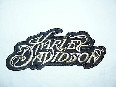 HARLEY DAVIDSON Iron on/ Sew on Patch Biker Motorcycle
