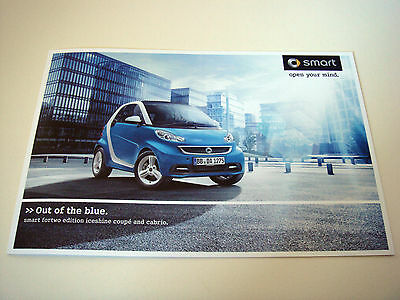 Smart . fortwo . Iceshine edition . 2012 Sales Leaflet
