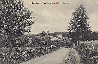 Feldpostkarte Westlicher Kriegsschauplatz REPAIX France German Occupation 1917