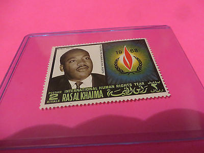 1968 Rev. Martin Luther King Fighters For Human & Civil Rights Postal Stamp