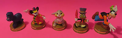 2002 McDonalds Disney 100 YEARS OF MAGIC 6 Toy Figures - RARE COLLECTIBLES !!!