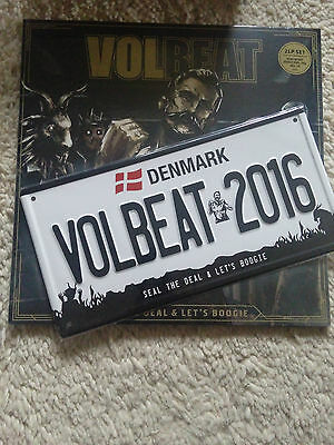 Volbeat - Seal the Deal + Let´s Boogie 2 LP Set 180 G + CD + Metal Plate NEW