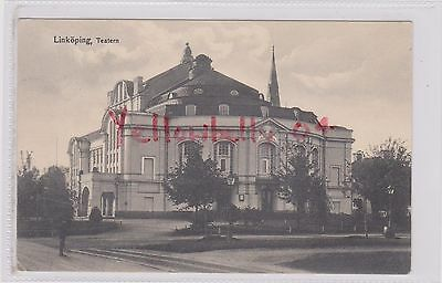 Sweden Linkoping Teatern Theater Bw Ppc Pu Sahlstrom Card