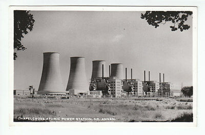 Chapelcross Nuclear Atomic Power Station Demolished 2007 Annan Dumfries RP 1961