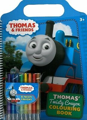 Thomas And Friends Twisty Crayon Colouring Book  priority post Australia wide'