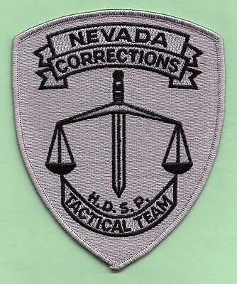 J29 * High Desert Tactical Nevada Corrections Hrt State Police Swat Patch Fbi *