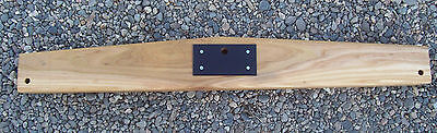 """Complete Wagon Wood Evener with metal center plate 44"""""""