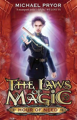 Laws Of Magic 6: Hour Of Need by Michael Pryor (English) Paperback Book Free Shi
