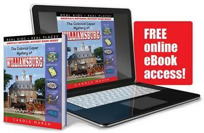 The Colonial Caper Mystery at Williamsburg by Carole Marsh (English) Library Bin