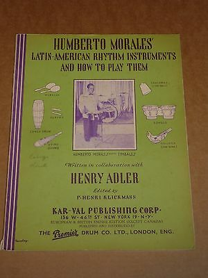 """Humberto Morales/Larry Adler """"Latin-American instruments & how to play them"""""""
