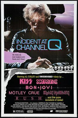 """Incident At Channel """" Q """" Original Rolled Movie Poster 1988 #E5"""