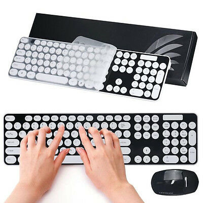 2.4G Wireless Optical Mouse and Keyboard Set Multimedia for Desktop Laptop PC