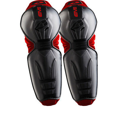 EVS Epic Elbow Guards Protection Armour Limb Pads Motocross MX Enduro Black Pair
