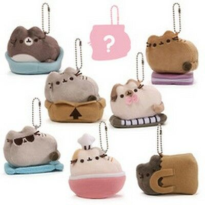 Gund -  Case Of 24 - Pusheen Blind Box Series 3 -  Places Cats Sit
