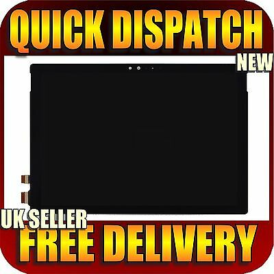 "Microsoft Surface Pro 4 1724 12.3"" LCD Display Touch Screen Digitizer Assembly"