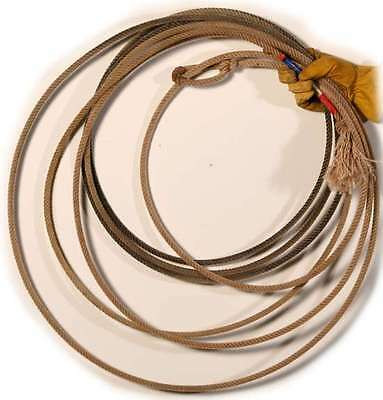 Cowboy Lasso Rope Western Ranch Cast made in the USA roping