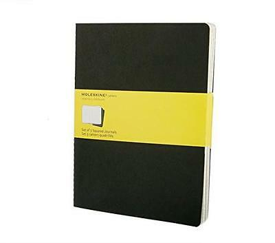 Squared Cahier: Extra Large, Black, 3 Pack,  -  - NEW