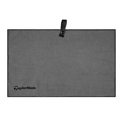 "TaylorMade Golf 2018 Microfiber Cart Towel (Grey 15"" x 24"")"