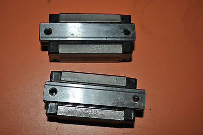 Lot Of 2 Genuine Thk Linear Bearings Shs-15R Shs15R Barely Used