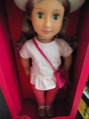 """Our Generation Brielle Doll 18"""" New In Box"""