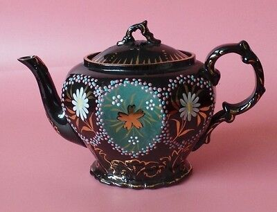 Bargeware TEAPOT Flower Design Barge Ware