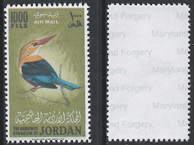 Jordan (1439) 1964 Kingfisher 1000f -  a Maryland FORGERY unused