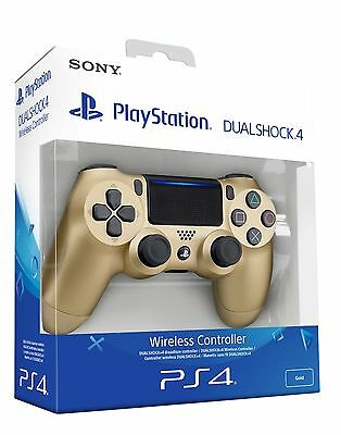 Controller Pad Sony DUALSHOCK 4  WIRELESS GOLD versione V2 - PS4 - NUOVO