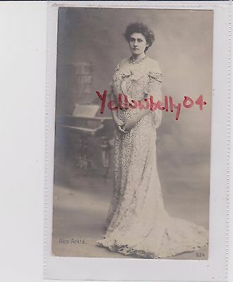 Finland Aino Ackte Opera Singer Matt Rp Pu 1906 Swedish Stamp Light Crease Rear
