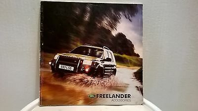 Land Rover Freelander 1 Accessories 64 Page Catalogue 2002 Nice Collectors Item