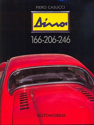Ferrari Dino 166 206 246 Fiat Dino out-of-print book