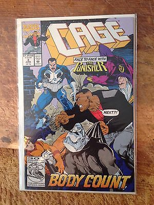 Cage #3 Vs Punisher Tv Shows Nm
