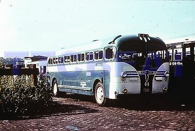 New Jersey Bus Slide: Blue Bus Line #44 Aerocoach (Duplicate)