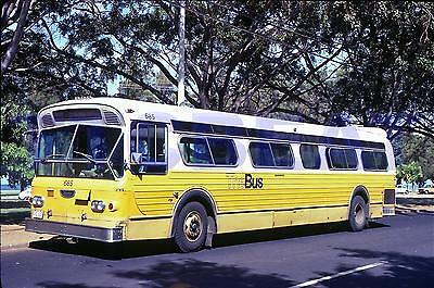 Hawaii Bus Slide: Honolulu The Bus #685 Flxible (1980 Original)
