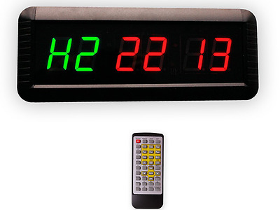 EU Timer Boxing Interval Programmable LED Countdown - Great For Lots Of Sports