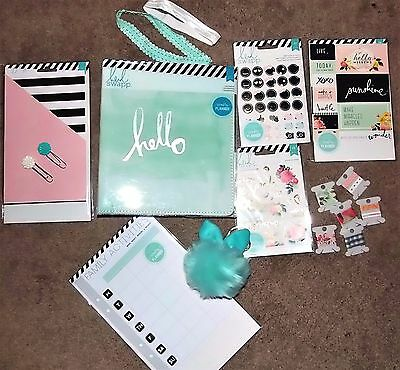 NIP HUGE lot Heidi Swapp Memory Planner Kit Bundle HELLO BEAUTIFUL WASHI charm 2