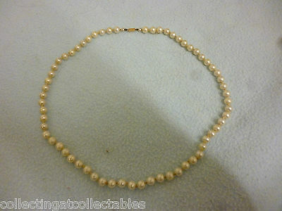 Ladies CIRO Pearl Necklace With 9ct Gold Clasp