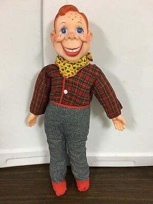 """Vintage 20"""" Howdy Doody EEGEE National Broadcasting Co Doll Figure"""