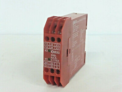 Sunx Srb-Na-R-C.17/sx 24V Safety Relay (3K1D)