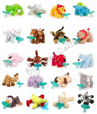 WubbaNub Infant Newborn Baby Soothie Pacifier ~ You Choose Animal