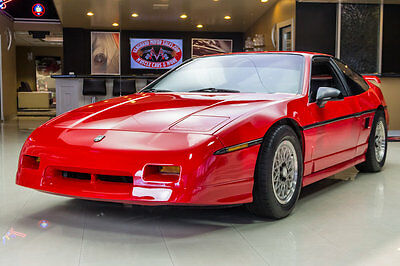 1988 Pontiac Fiero GT Coupe 2-Door 1st Place Show Winner! Rotisserie Restored! 2.8L V6, 5 Speed, A/C and Leather!