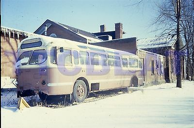 2 Toronto Bus Slides: Ttc 1954 Brill In Weston (Duplicates)